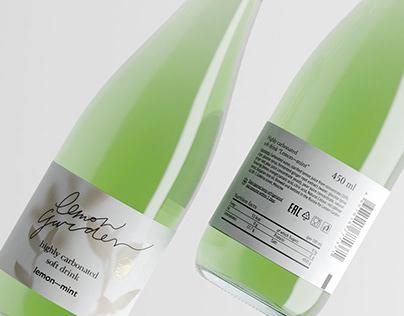 Lemonade packaging «Lemon Garden»