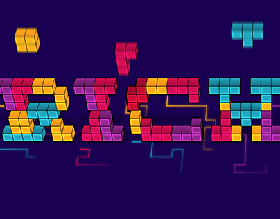 Isometric Tetris Text Effect in Adobe Illustrator
