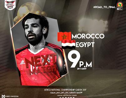 Egypt V.s Morocco