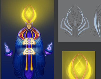 Mage / Character Concept Art
