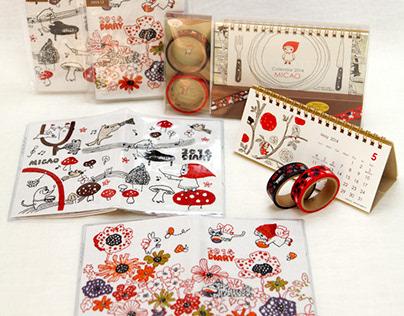 Product/ Calendar/Diary〜 2017
