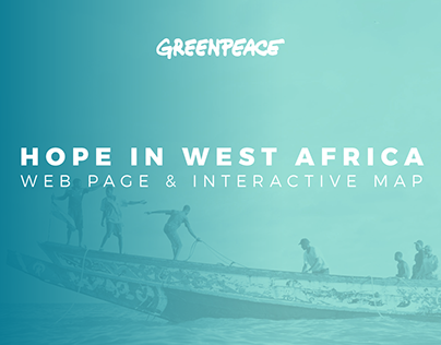 Hope In West Africa - Web Page & Interactive Map