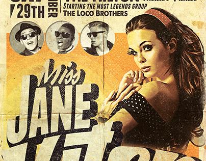 Retro Tarantino Flyer