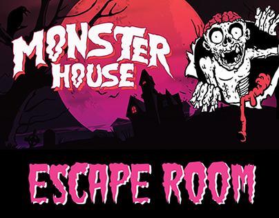 Monster House Escape Room