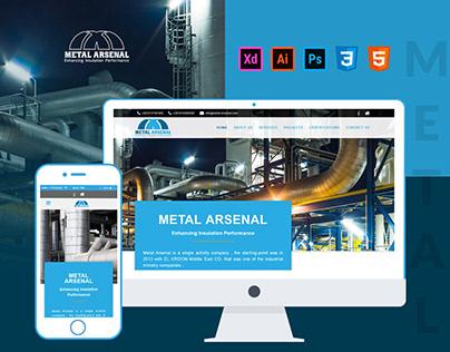Metal Arsenal Website