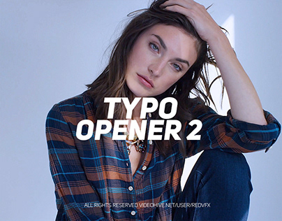Typo Opener 2 (After Effects Template)