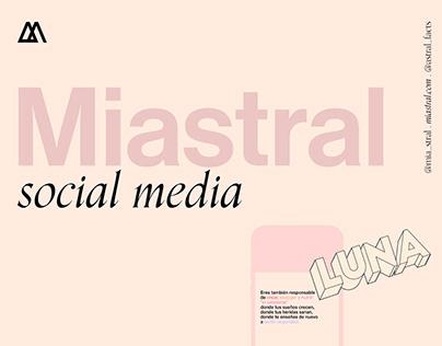 Miastral Social Media