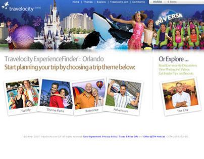 Travelocity ExperienceFinder