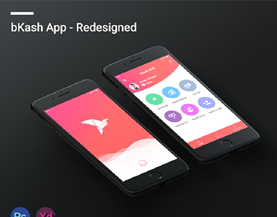 bKash App Redesign Concept