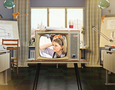 «Dom Kino»tv channel interprogram style 2017