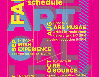 The Art Gallery Calendars 2017-2018