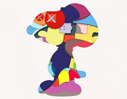 At The Kaws YSP Exhibition