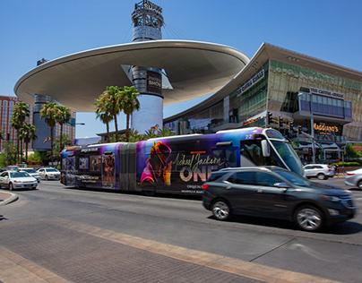 Michael Jackson ONE - Transit Design