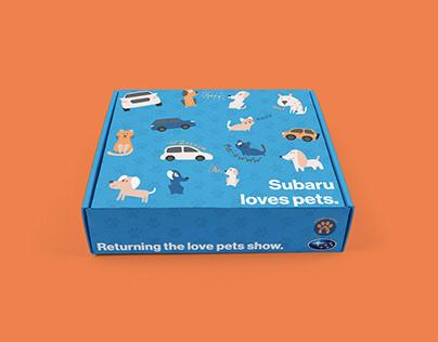 Subaru + ASPCA Subaru Loves Pets Campaign Concept