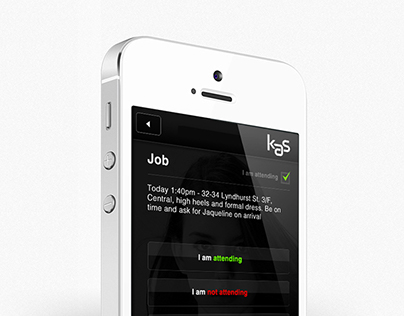 Model Agency iOS App & CRM