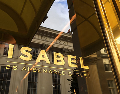 ISABEL - Glass gilding in London Mayfair