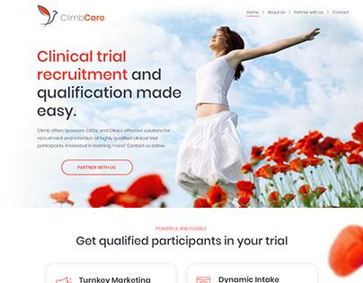 Woman's Health Website Design