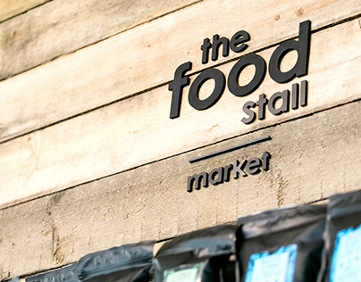 The Food Stall - visual identity and shop design