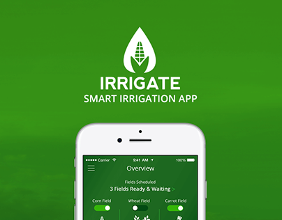Smart Irrigation App UI/UX Design