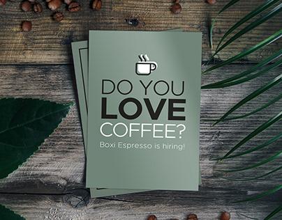 Boxi Espresso Café Posters