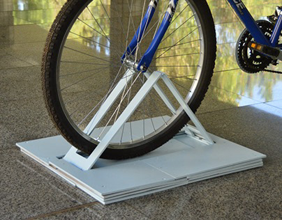 Mobile Bike Rack