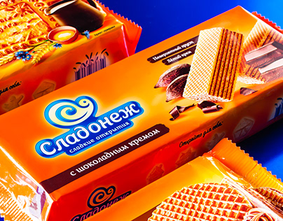Redesign of the packaging of confectionery brand