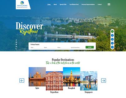 Saintsandmonks2 Website Redesign by ravisah.in