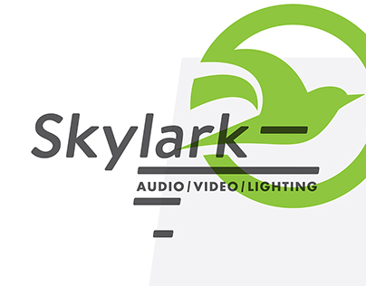 Skylark AV Identity