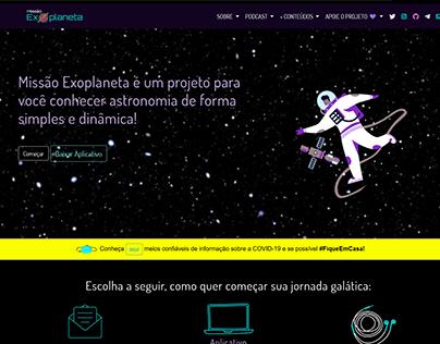 Website Missão Exoplaneta V3