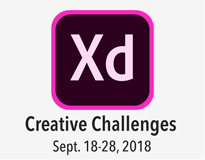 Xd Daily Creative Challenges Sept. 18-28