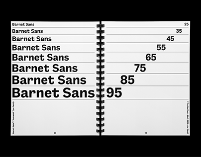Barnet Sans – Type Family