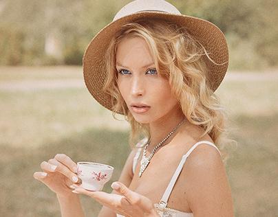 Royal Tea. Gold