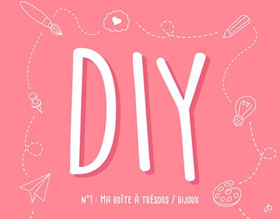#1 Ma boîte à trésors / bijoux - DIY