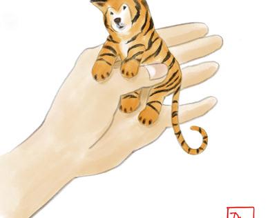 Shiba Dog-Cat