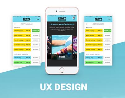 EFOTT - Easy-to-use ticket selling app