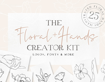 Floral + Hands Creator Kit