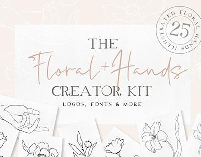Floral + Hands Creator Kit