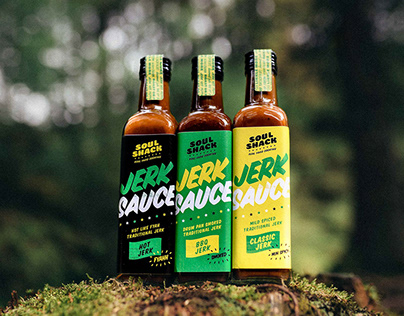 Soul Shack - Jamaican Street Food Visual Identity