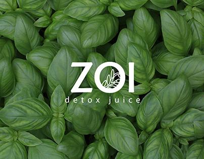 Zoi Detox Juice - Branding