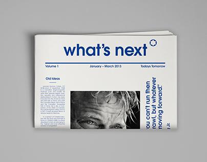 Mount Blanc Cataloge/Magazine