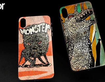 My new phone case illustrations
