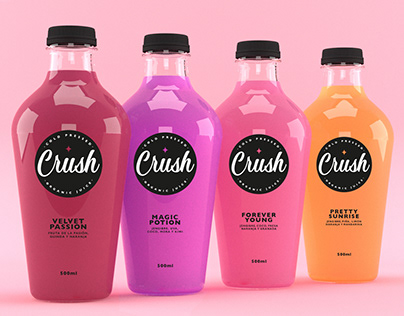 CRUSH Organic Juice Cold Pressed