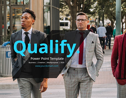 Qualify Power Point Presentation Template