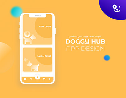 Doggy Hub App Design Concept