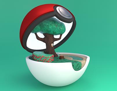 Stylized Rowlett | 3D fanmade character