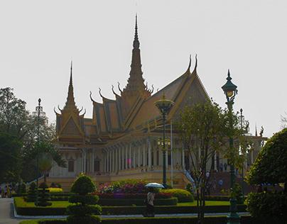 Royal Palace, Phnom Penh, Cambodia, March 2019