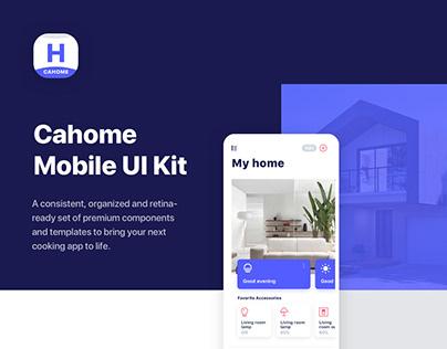 Cahome Mobile UI Kit