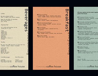 Local Coffee Shop - Menu Design