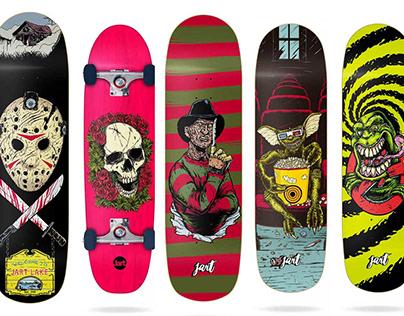 Jart Skateboards 2019 Deck Collection