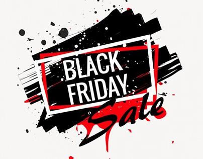 Black Friday Sale Banner by Sarmad Gardezi